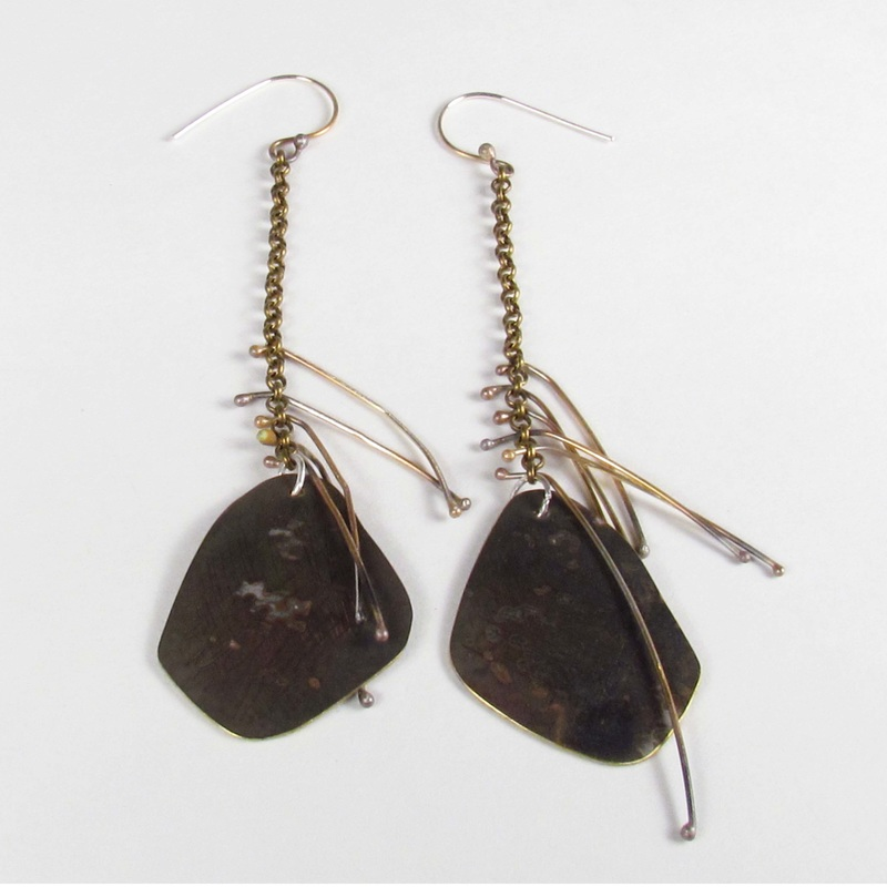 Drop earrings by Roxy Lentz