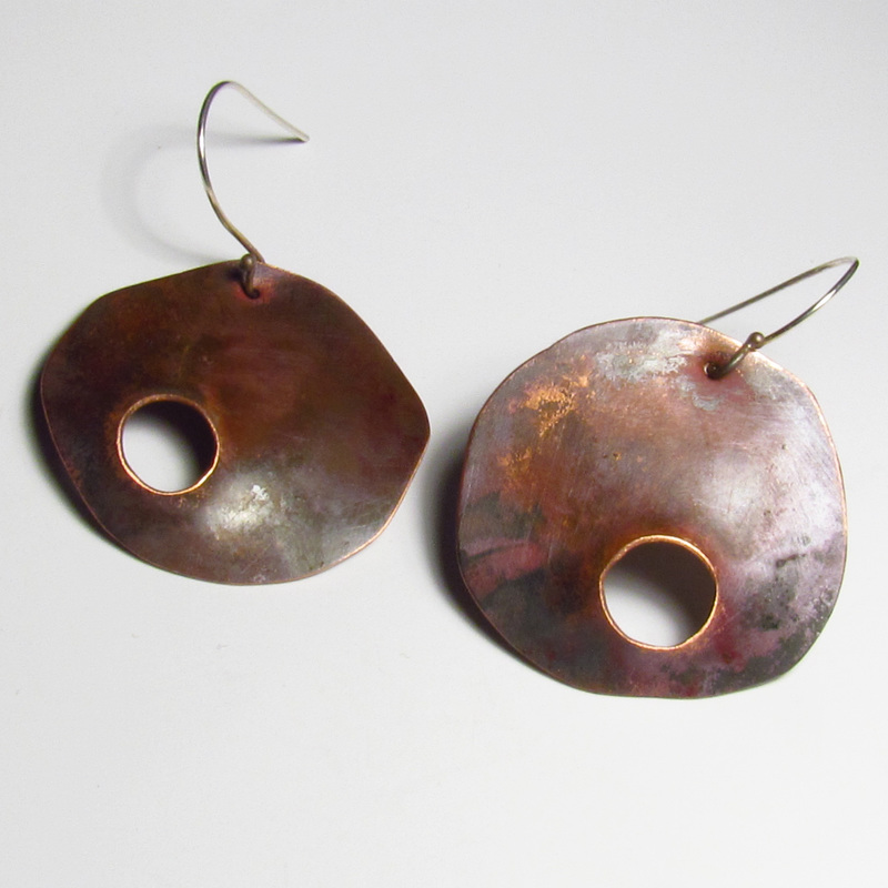 Roxy Lentz Copper with fire patina